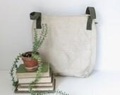 vintage shop tool bag | vintage canvas carryall
