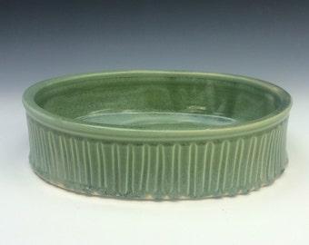 Oval Baking Dish- Wintergreen