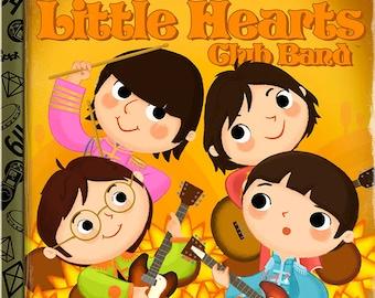 Sgt. Pepper's Little Hearts Club Band - 8x10 PRINT