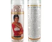 Saint Michael (Jackson) prayer candle