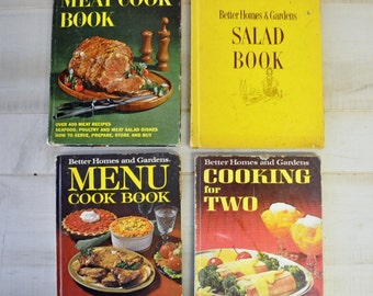 Instant collection of Better Homes and Gardens Vintage cookbooks / 1960s cookbooks / 1970s cookbooks