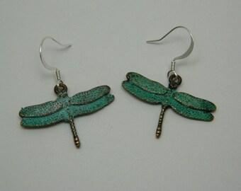 patina dragonflys
