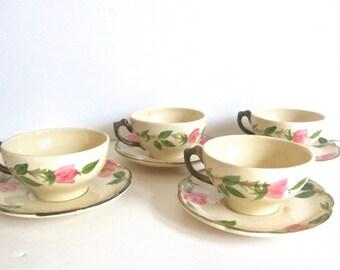 Franciscan Ware - Desert Rose - Vintage Tea Cup And Saucer