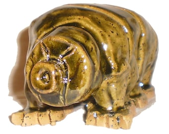 Tardigrade Water Bear Ceramic Sculpture