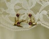 Titanic Jewelry Rose's Boarding Earrings Pierced