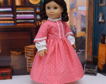 Pioneer Love - Civil War or Prairie dress for American Girl doll