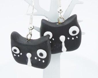 Bakery Jewelry Handmade Polymer Clay Animal Earring