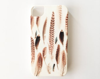 CLEARANCE SALE! Feather Phone Case for iPhone 4/4s - Found Feathers