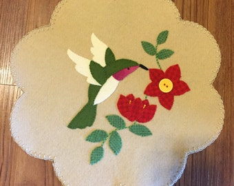 Hummingbird Wool Tablemat