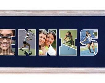 TENNIS Custom Photo Mat (mat only) with clip art