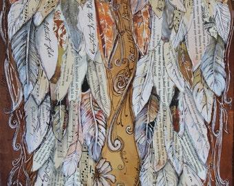 Angel Wings decor  Art Print 11x14