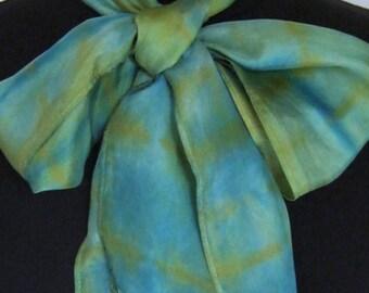 New World Plaid Silk Scarf