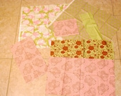 TULA PINK Hushabye/Plume fabric collection lot butterfly lace circus ducky dot