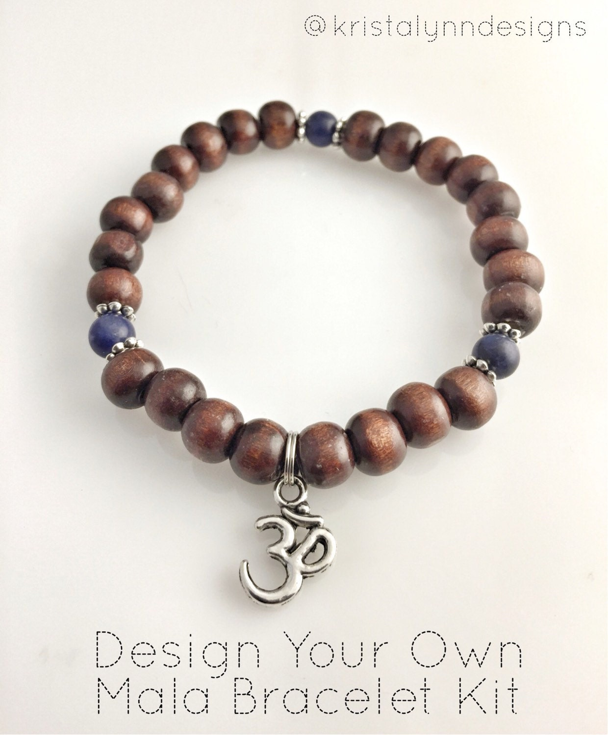 diy make your own mala bracelet kit custom