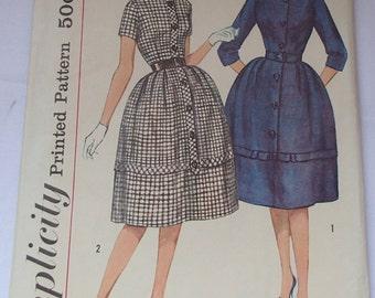 Vintage 1950s Simplicity #3105 Dress Pattern