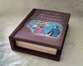 Mini Handbook for the Recently Deceased Book Jewelry Box - Ring Box - Engagement Ring Box - Pop the Question - Beetlejuice Book Jewelry Box