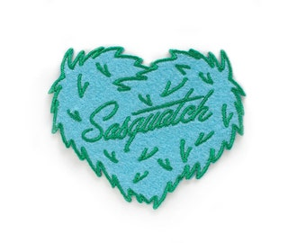 Sasquatch Patch - Embroidered Felt Instant Stick Patch