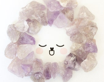 amethyst LITTLE gurus crystals for kids