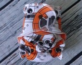 One Size Stay Dry Overnight Fitted Cloth Diaper in Droid by Soothe Baby