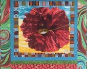 Give Yourself a Dream Flower 38x40 inch art quilt
