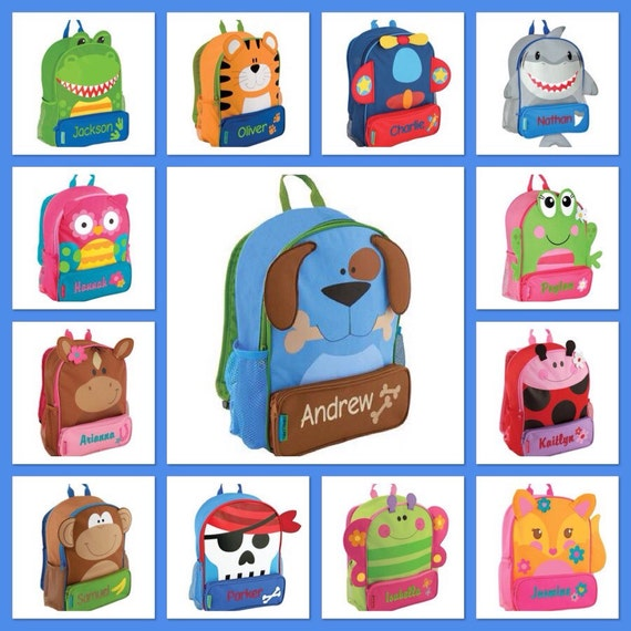 Stephen Joseph backapck / personalized backpack / preschool backpack / toddler backpack / SIDEKICK