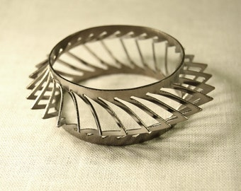 Gunmetal Spike Bangle