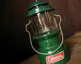 Vintage Avon Coleman Lantern Cologne Bottle Camp Lantern Prop Camper Log Cabin Man Cave Decor