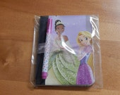 Up cycled MINI Composition Book Disney Princess