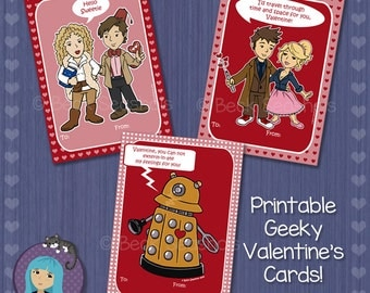 Printable Doctor Who Valentineu0027s Day Card
