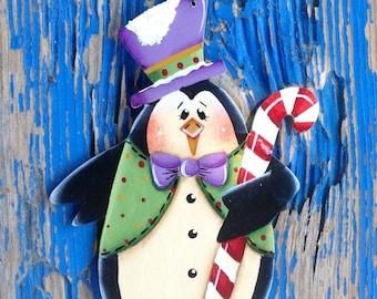 Mr. Dancing Penguin Ornament