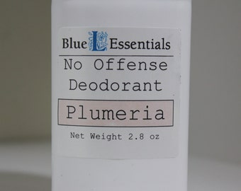Deodorant - Plumeria - No Offense Deodorant byBlue L Essentials - The Scent of the Islands