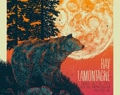 Ray Lamontagne 18x24 Gigposter | Raleigh 2016
