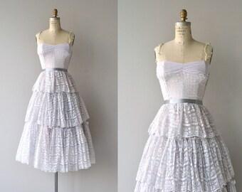 Mindinette lace dress | vintage 1950s party dress | lace 50s dress