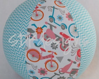 Fabric Balloon Ball Cover - TOY -Bikes and Scooters Galore - Stocking Stuffer as seen with Michelle Obama on parenting.com