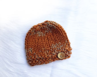 Knit baby hat, knit hat, knit beanie, baby knits, baby gift, baby shower gift.