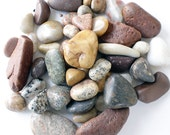 Tumbled Rocks, Tumbled Stones, Polished Rocks, Polished Stones, Jewelry, Medium Stones, Beach Stones, Lake Michigan Stones, Decorative Rock