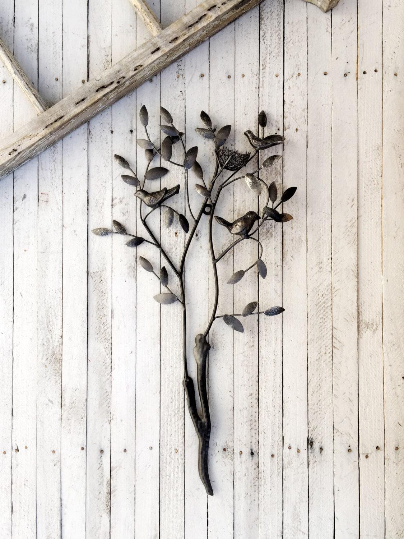 Twig Decor Birds On A Twig Wall Art Bird Wall Decor Nest