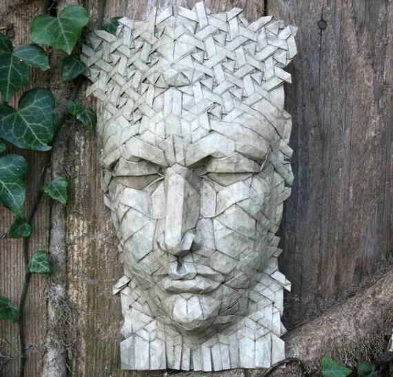Sybil - origami portrait