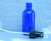2oz Cobalt Glass Spray Bottle