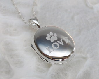 Paw Power, Locket with sterling chain