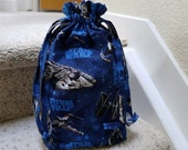 Child's Drawstring Bag, Star Wars Drawstring Bag, Toy Storage Bag, Star Wars, Medium Size Bag