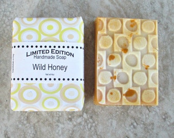 Wild Honey Soap, gentle cleansing soap, best bar soap, sweet fragranced soap, shea butter soap