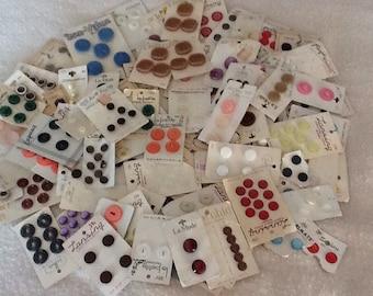 Vintage buttons lot 3