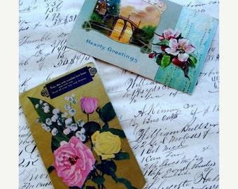 20PercentOff 100 Year Old Victorian Postcards N07