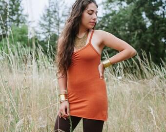 Cami Tank/ Hemp, Organic Cotton, Spandex