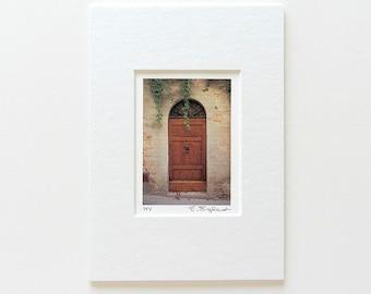 Italian Door with Ivy, Italian Photography, Door Print, Wooden Door Photography Rustic, Italian Decor, Tuscany Italy Art, Stocking Stuffer