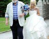Reserved For Rachel - Vera Wang ELIZA inspired Wedding Gown