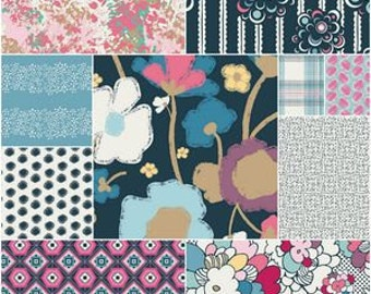 Queen Quilt, King Quilt, Rag Quilt, YOU CHOOSE SIZE, Dare to be Bold fabrics, comfy cozy handmade bedding