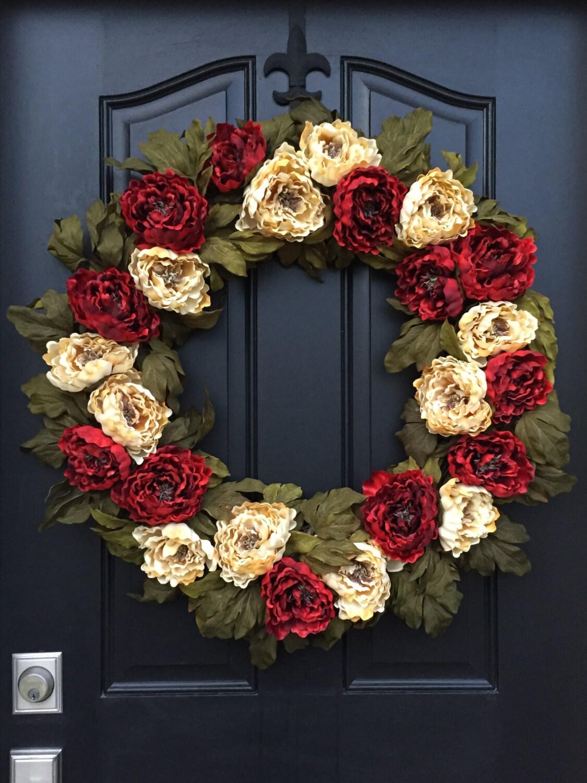 Christmas wreaths holiday wreaths front door wreaths for Front door xmas wreaths
