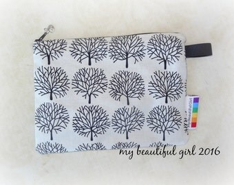 Laughing Trees Zippered & Waterproof Mini Wetbag, 6x8 - INSTOCK